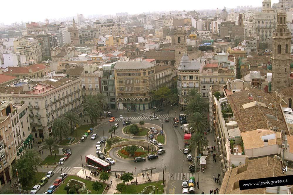 La Plaza de la Reina vista desde El Micalet