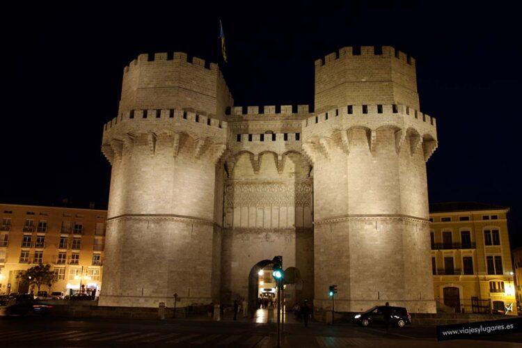 Torres de Serranos de Valencia