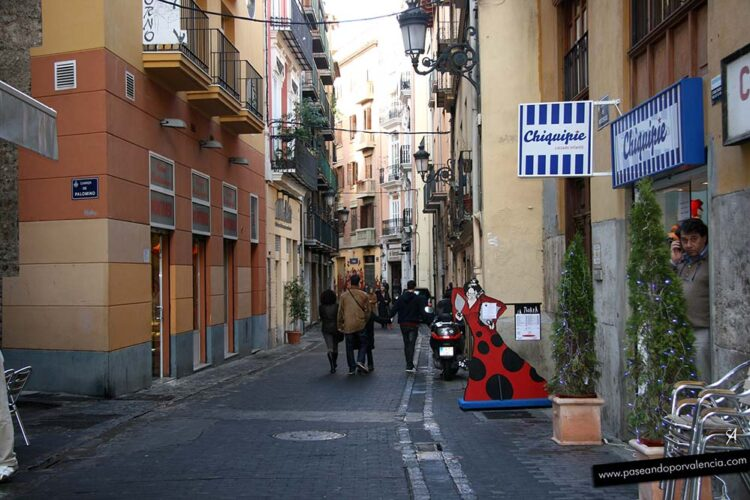 Calle Roteros en Valencia