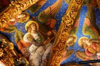 Ángeles músicos de la catedral