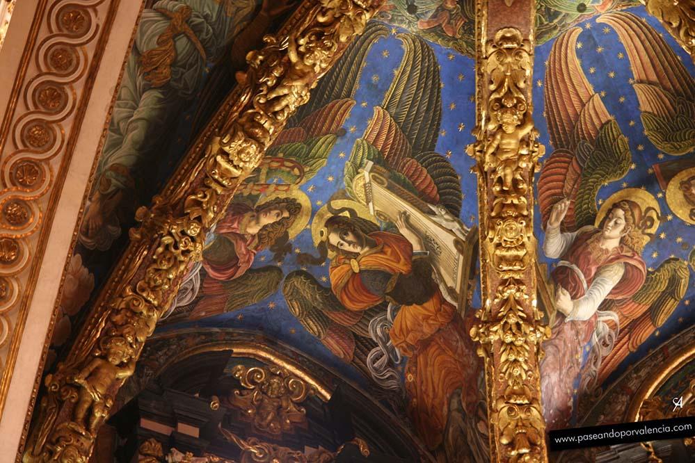 Ángeles músicos de la catedral de Valencia