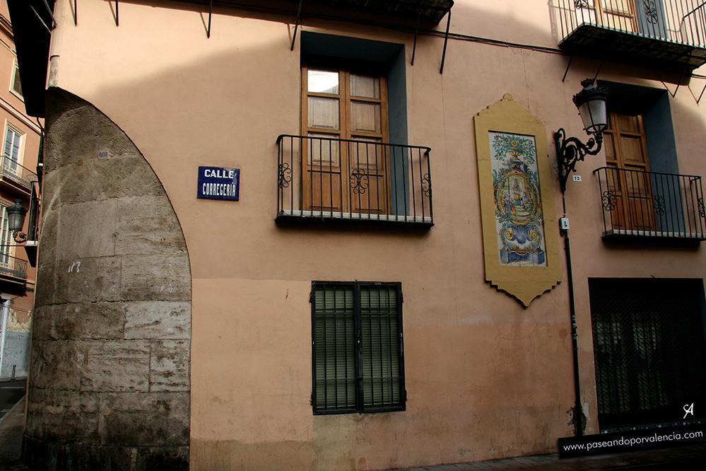 Calle Corregería en Valencia
