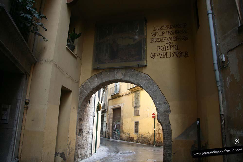 Portal de Valldigna en Valencia