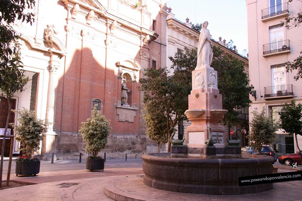 Plaza de los Patos en Valencia