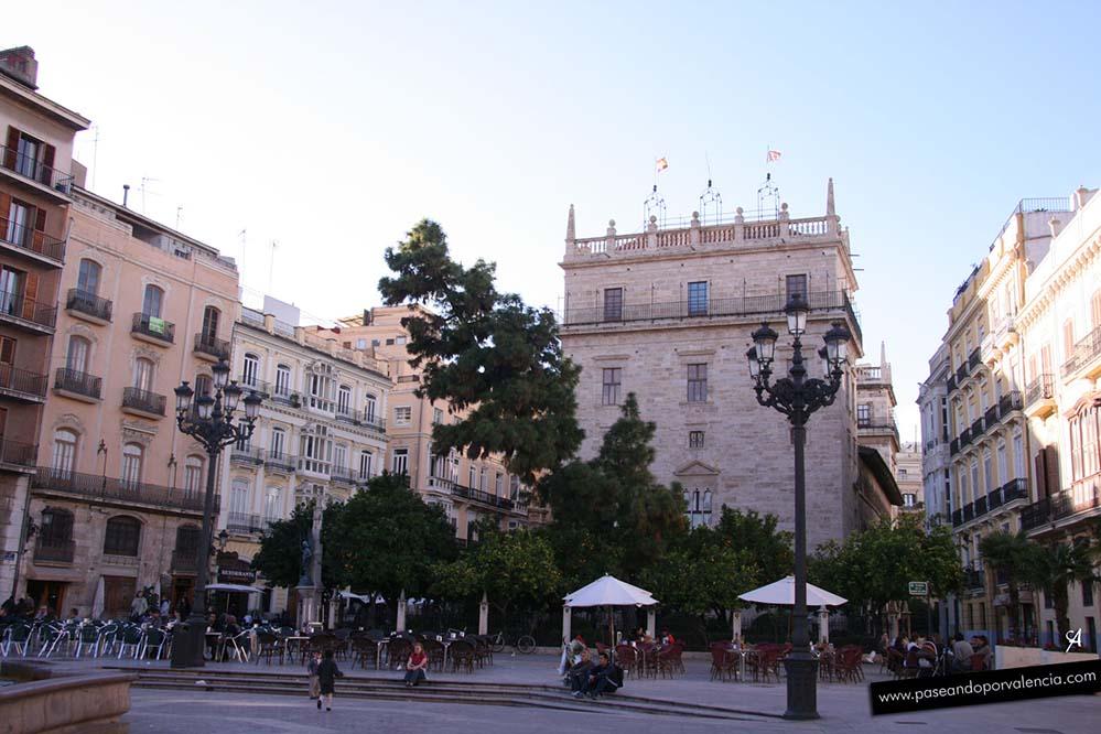 Palau de la Generalitat en Valencia