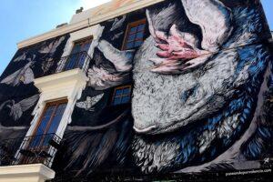 Arte en la calle en Valencia