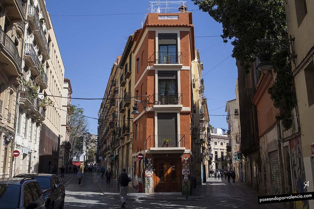 Calle Alta y Calle Baja en Valencia