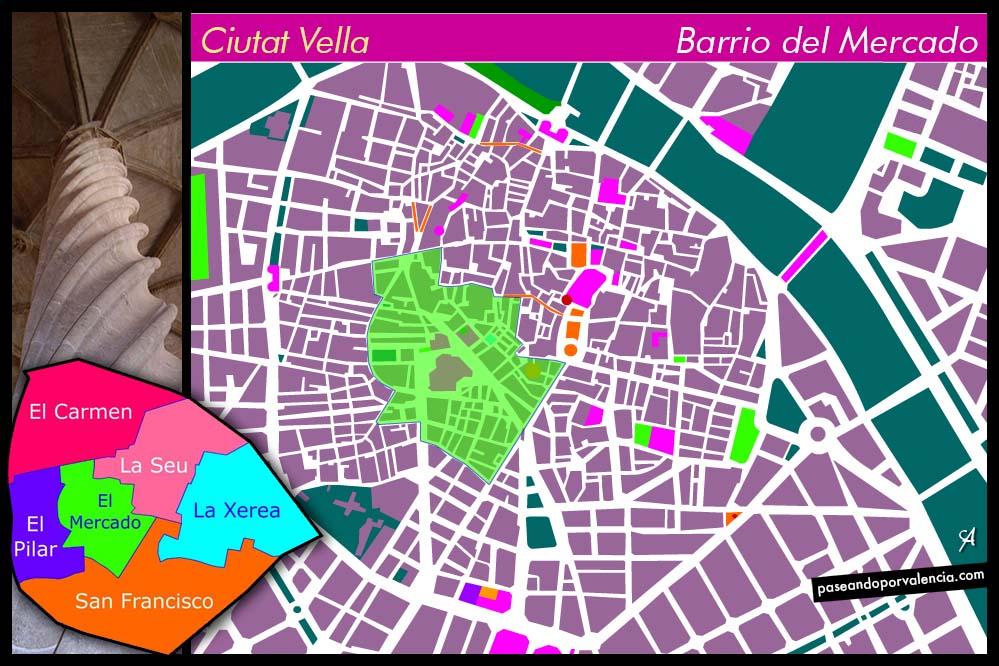 Barrio del Mercado de Valencia