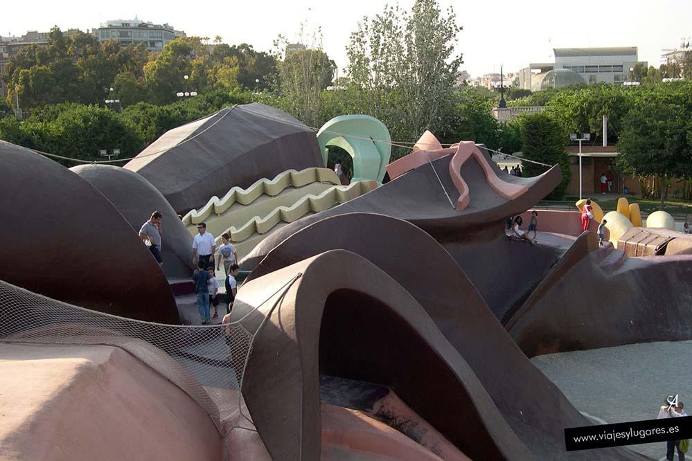 Parque Gulliver en el Jardín del Turia