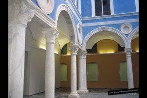 Patio del Embajador Vich en el Museo de Bellas Artes de Valencia