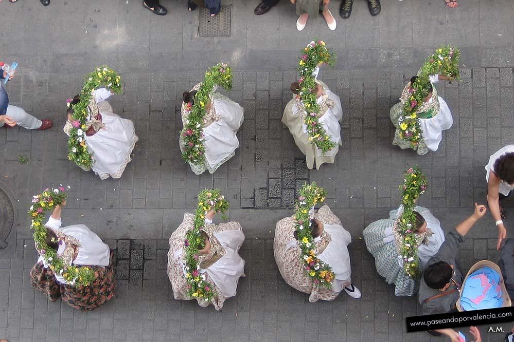 Cabalgata del Convite en la fiesta del Corpus en Valencia