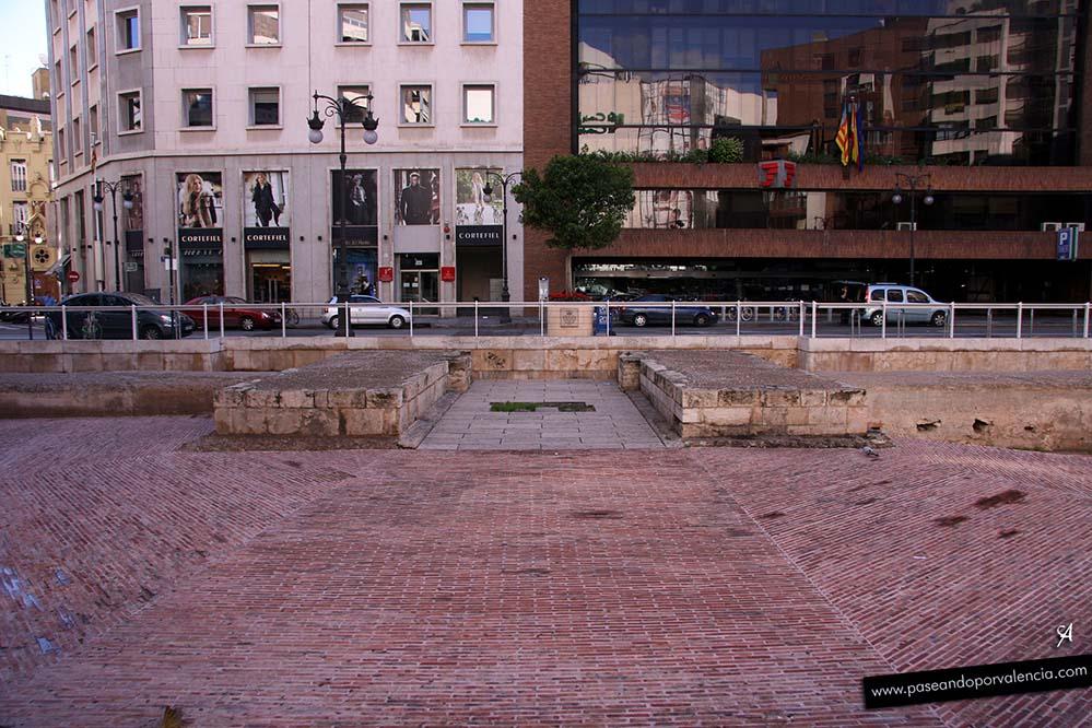 Puerta de los Judíos, restos arqueológicos