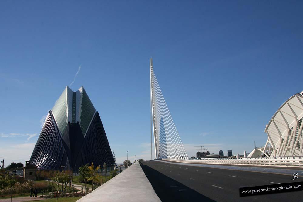 Puente del Azud del Oro en Valencia