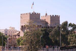 Las Torres de Serranos en Valencia