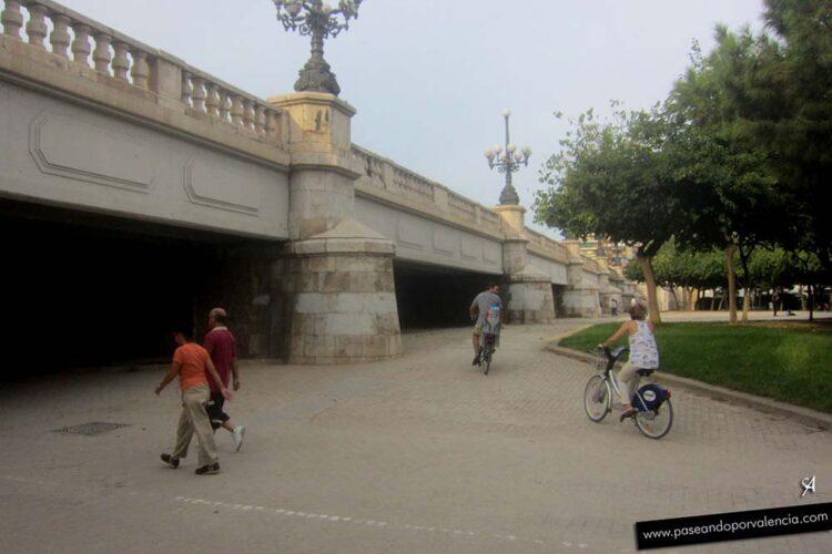 Puente del Ángel Custodio en Valencia