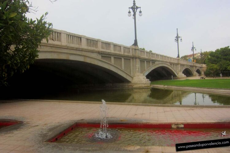Puente de Aragón en Valencia