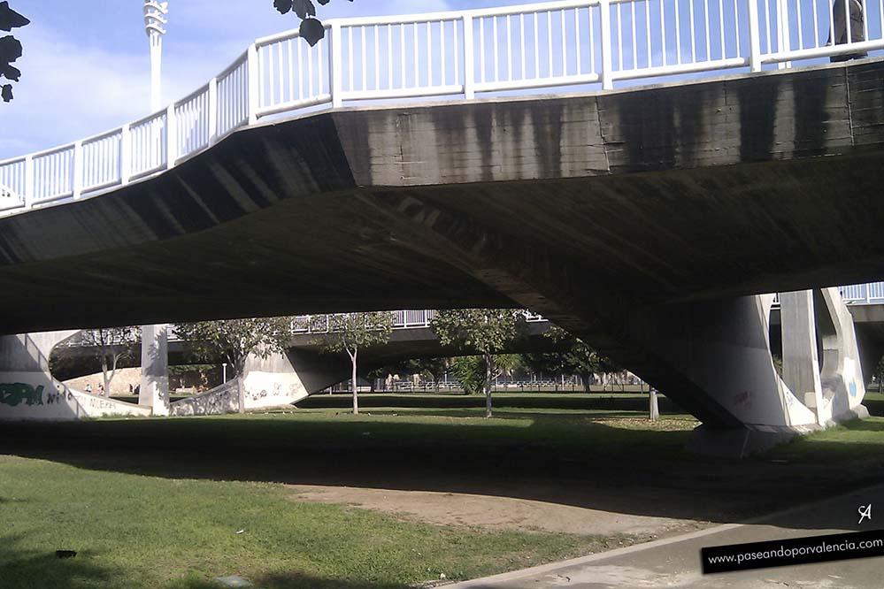 Puente de las Artes en Valencia