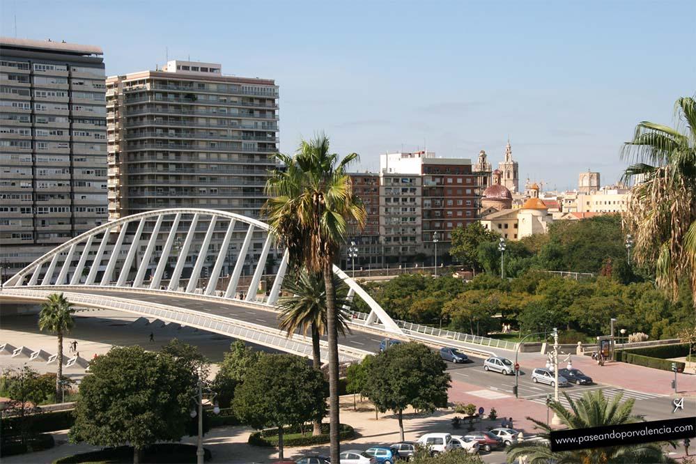 Puente de la Exposición en Valencia