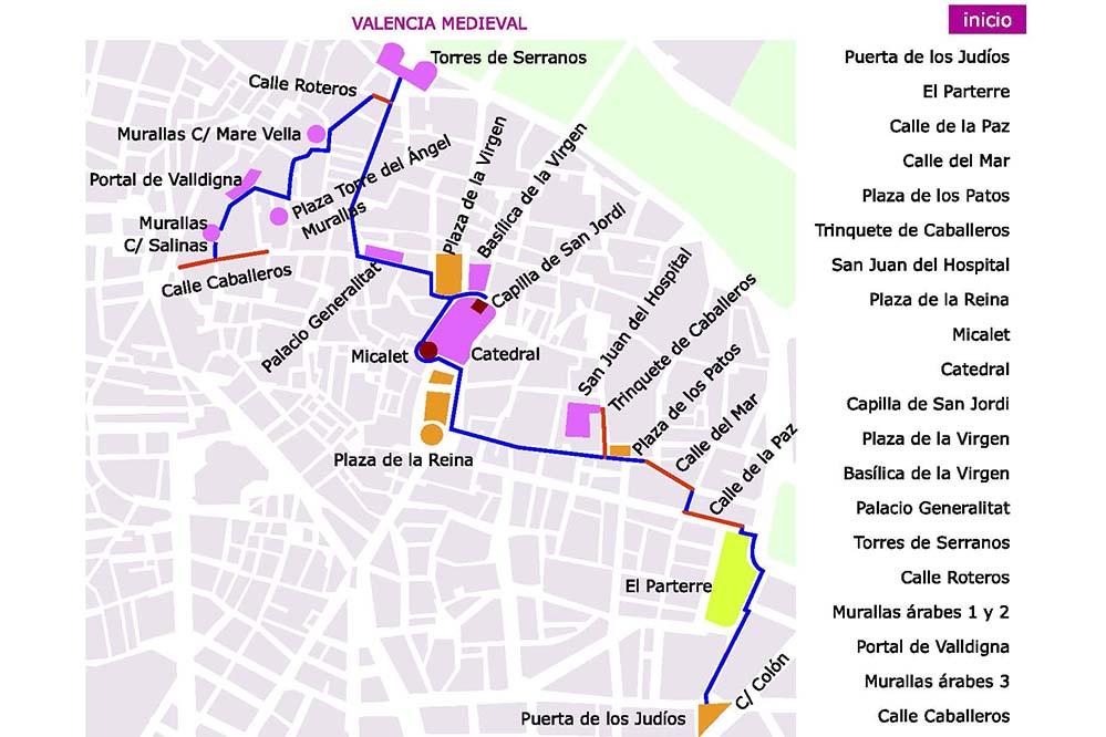 Ruta Valencia Medieval