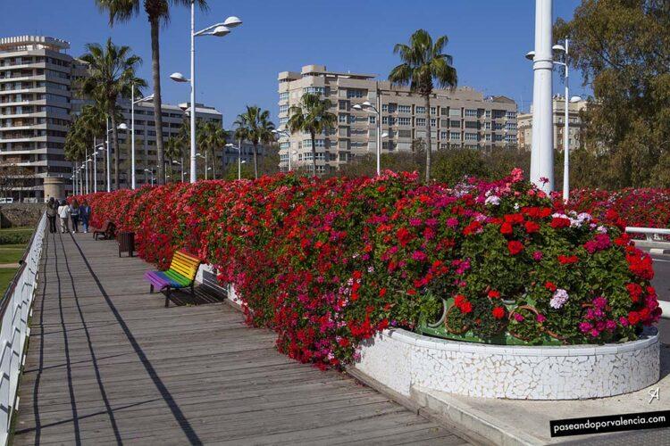 Puente de las Flores en Valencia