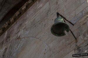 campana rota en las Torres de Serranos en Valencia